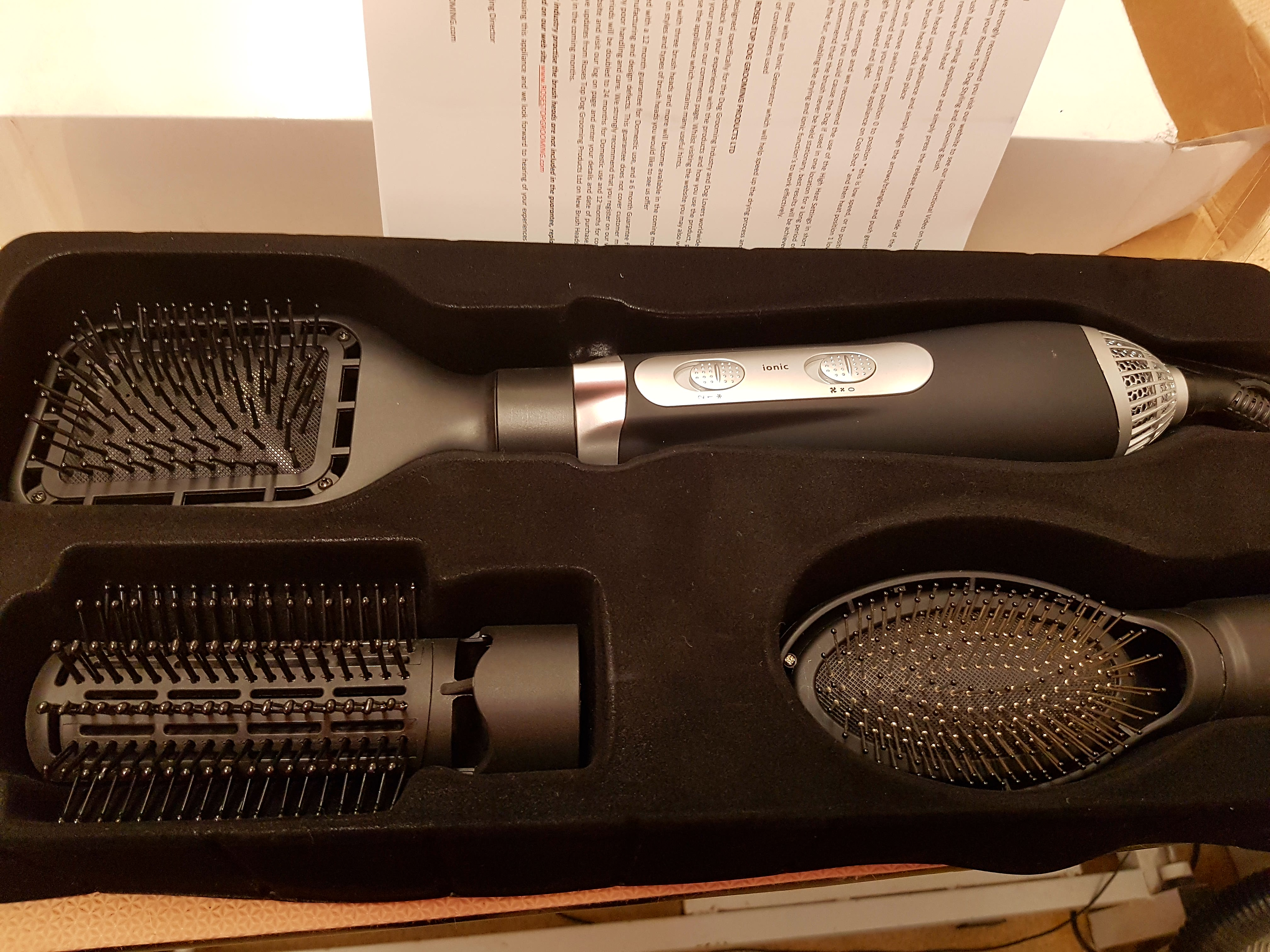 Hairbrushdryer